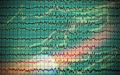 Concept graph brain wave EEG