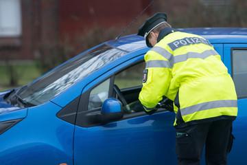 Polizeikontrolle - Knöllchen