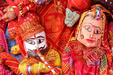 dilli haat, rajasthani, puppet couple,