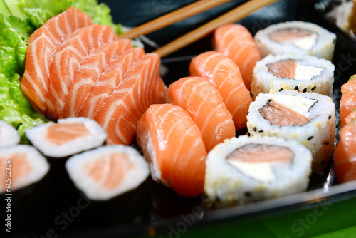 Foto op Canvas Vis Japanese food - Sushi