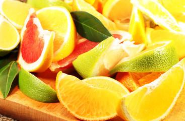 Spalten von Zitrusfrüchten