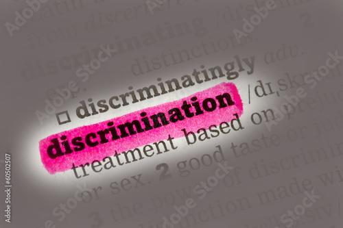 Discrimination  Dictionary Definition
