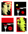 serie di menu