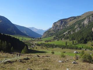 Vallée du Ponthurin, en Haute-Tarentaise