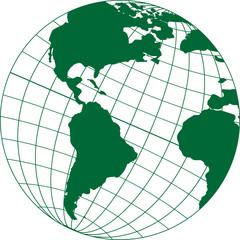 Прикрепленная карта на миеридиана