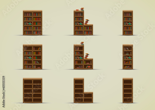 Wardrobes for books