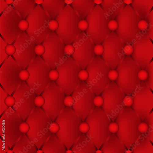 Red upholstery leather pattern background.