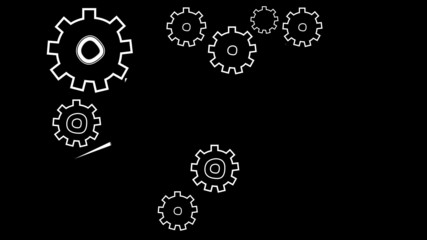 Cogs and wheels animation