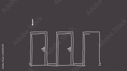 Idea and doors animation