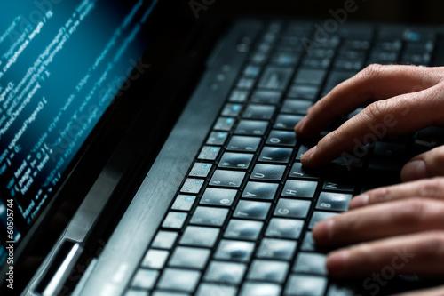 Computer crime concept - 60505744