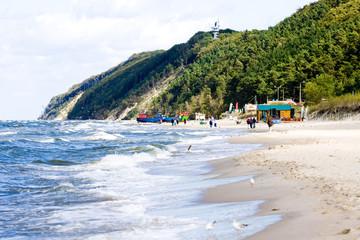Baltic Sea Poland Wolin - coast