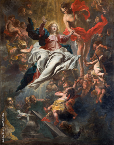 Antwerp - Assumption of Mary  in St. Charles Borromeo church
