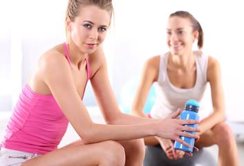 Relaks w siłowni