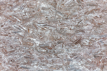 Abstract background of wood chips