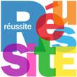 """Mosaïque de Lettres """"REUSSITE"""" (succès management performance)"""