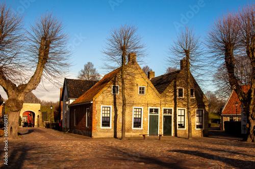 Historic Dutch houses - 60508931