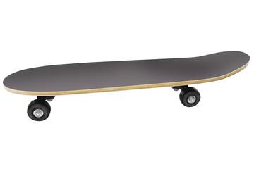 skateboard isolated under the white background