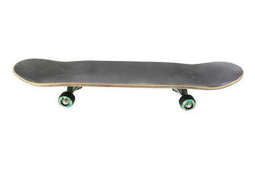 skateboard isolated under the white background