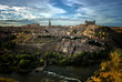 Toledo and Tajo river, Spain
