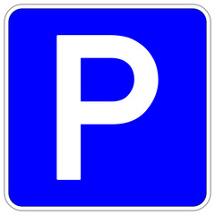 Parklplatz Parken Schild  #140120-svg02