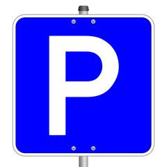 Parkplatz Parken Schild  #140120-svg01