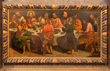 Stitnik - Pain of Last supper of Jesus on the wood