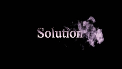 Solution Smoke Animation
