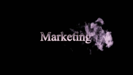 Marketing Smoke Animation