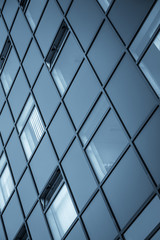 Abstract picture of a modern building