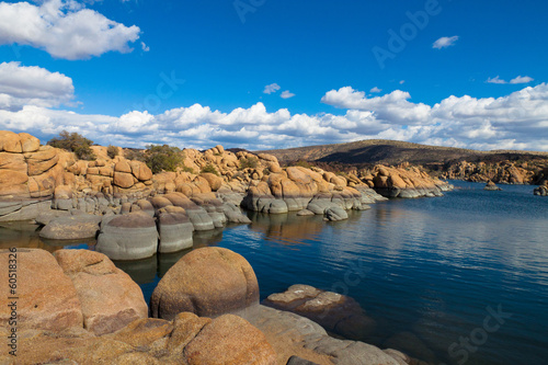 Watson Lake in the Gramite Dells of Prescott, AZ