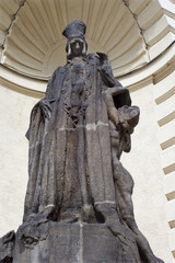 rabbi Löw - statue from prague