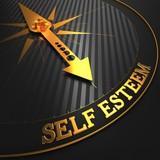 Self Esteem Concept. poster