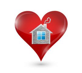 love your home illustration design