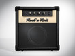 Rock'n Roll amplifier. Front view