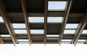 Pattern of metal roof structure