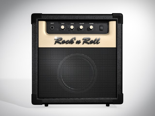 Rock'n Roll amplifier. Front view
