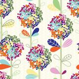 Seamless floral pattern - 60521715