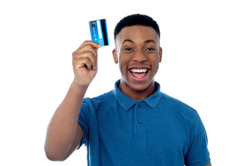 Hi! This is my new credit card!