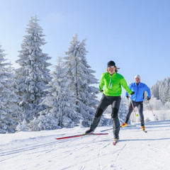 Traumwetter beim Wintersport