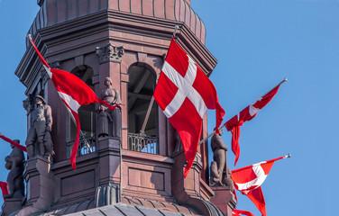 Turm von Schloss Christiansborg