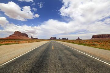 route 66 vers Monument Valley, Arizona