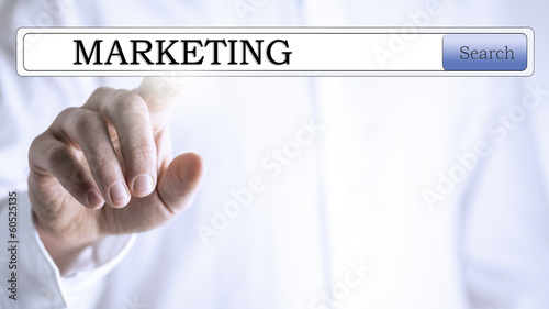 Business marketing search