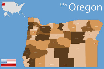 USA - State of Oregon