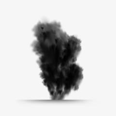 explosion, grunge style