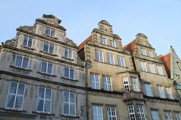 Giebelhäuser am Markt in Bremen