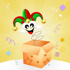 Jester in the box