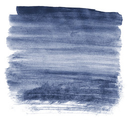 Gradient watercolor background in blue