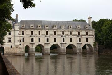 Castle of Chenonceau. Loire Valley.
