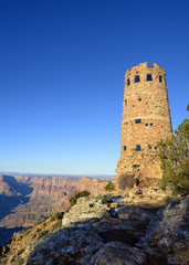 Watchtower at the Grand Canyon