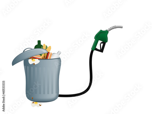 Bio fuel - energy production from refuse